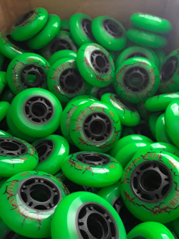 Wholesale Bulk Lot Outdoor Inline Skate Wheels
