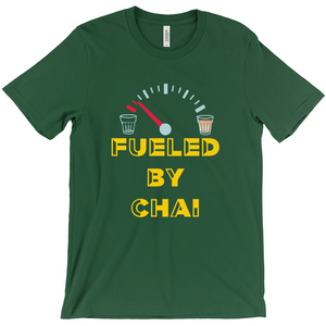 Fueled By Chai Crew Neck T-Shirt