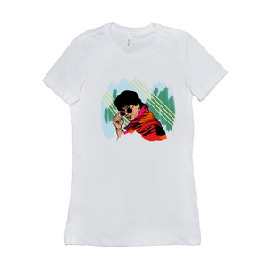 Young Shahrukh Khan SRK Women's Crew Neck T - Shirt