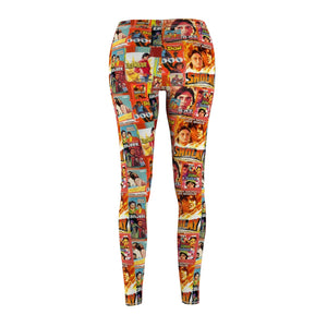 Amitabh Bachchan Vintage Women's Cut & Sew Casual Leggings