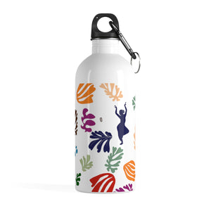 Floral Natyam Stainless Steel Water Bottle
