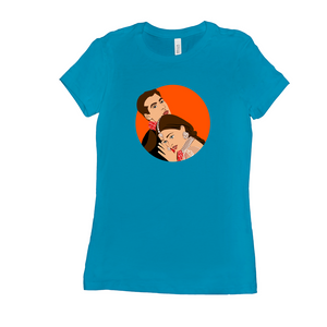 Hum Dil De Chuke Sanam HDDS Bollywood Couple Crew Neck Women's T-Shirt