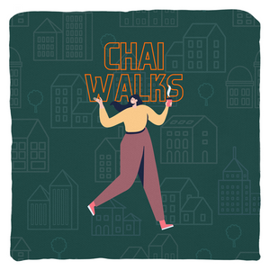 Chai Walks Throw Pillow