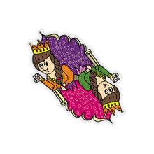 Queen of Hearts Kiss-Cut Stickers
