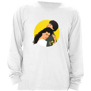 DDLJ Bollywood Couple Unisex Long Sleeve Shirt