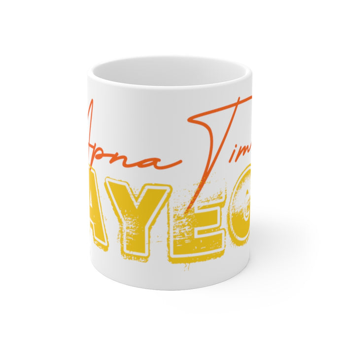 Apna Time Aayega Gully Boy Rap White Ceramic Mug