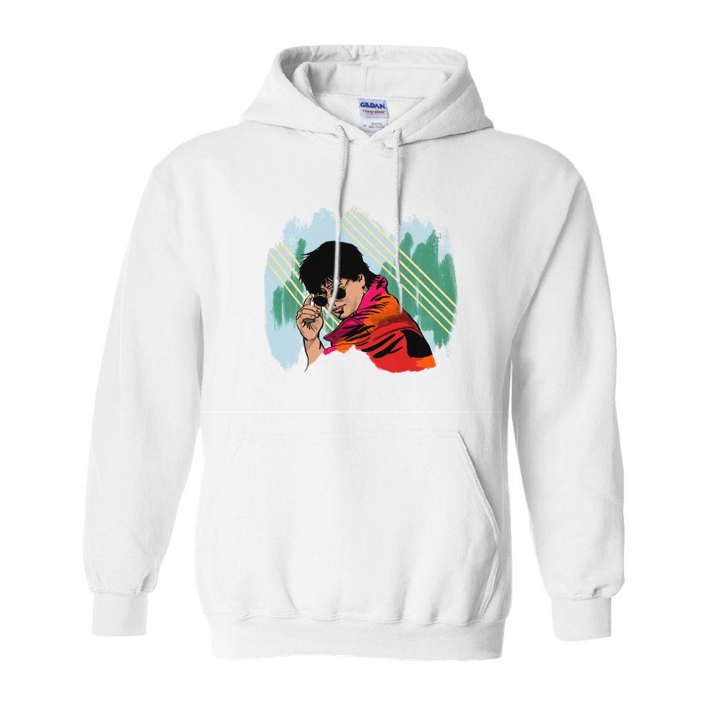 Young Shahrukh Khan Hoodies (No-Zip/Pullover)