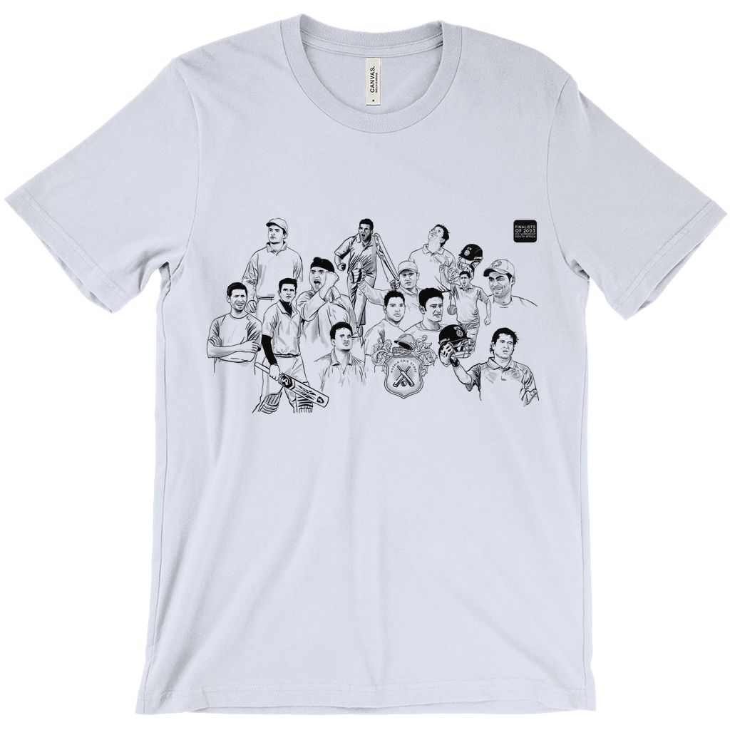 Worldcup Cricket 2003 India Squad T-shirt