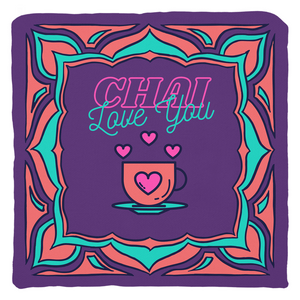 Chai Love You Throw Pillow