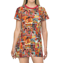 Amitabh Bachchan Vintage BollAll Over Print T-Shirt Dress
