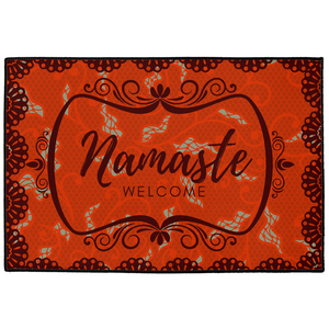 Namaste Classical Indoor/Outdoor Welcome Floor Mat