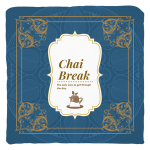 Chai Break Throw Pillow