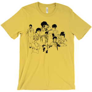 Shah Rukh Khan SRK collage Short-Sleeve Men's T-Shirt