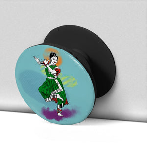 Classical Dancer Bharatnatyam Phone Grip