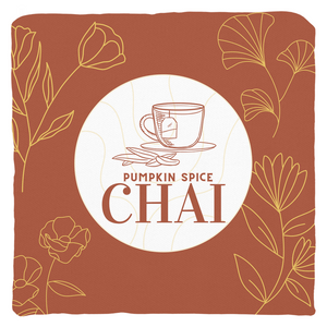 Pumpkin Spice Chai Throw Pillow
