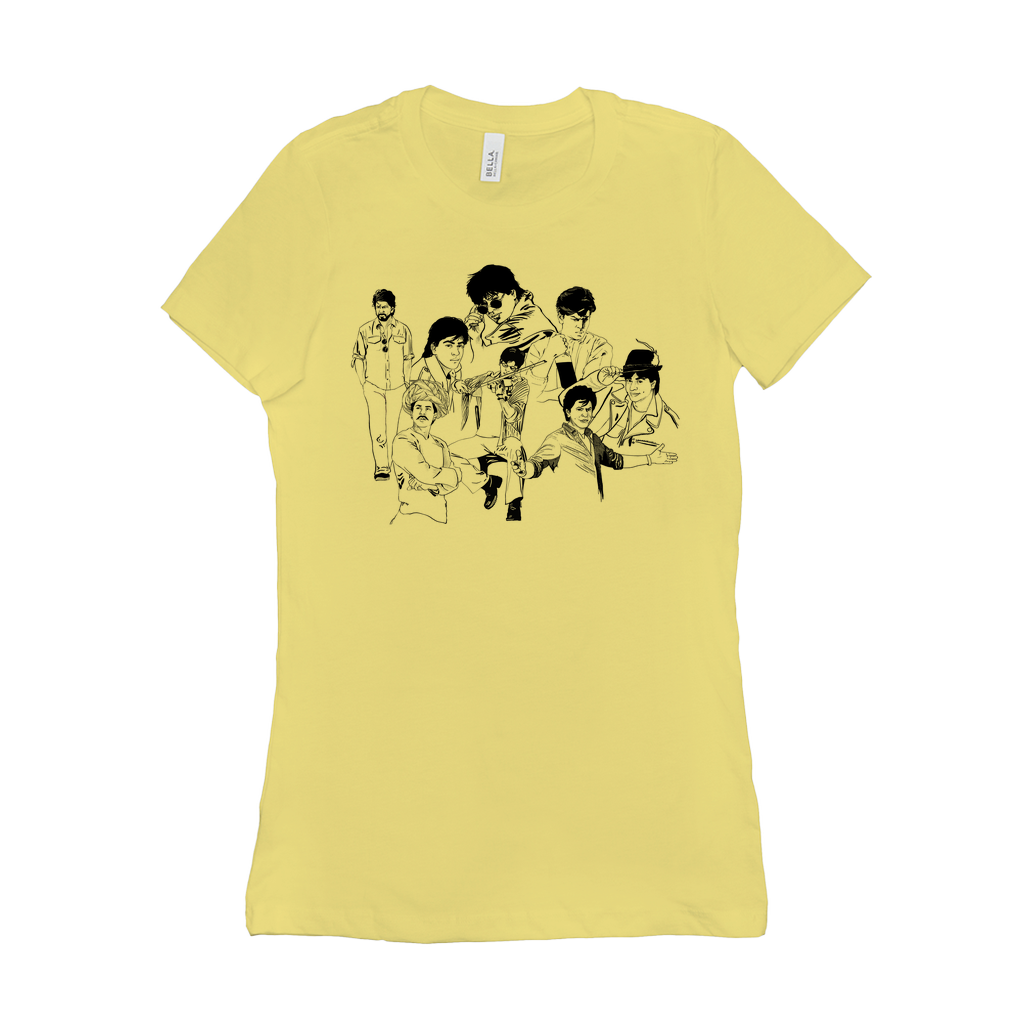 Avatars of Shah Rukh Khan SRK Women's Crew Neck T-shirt