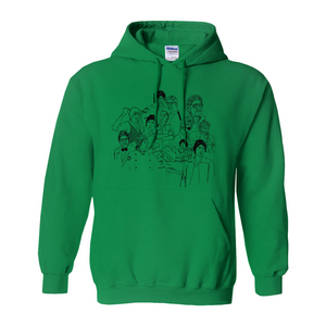 Shehenshah Amitabh Portraits Bollywood Hoodies (No-Zip/Pullover)