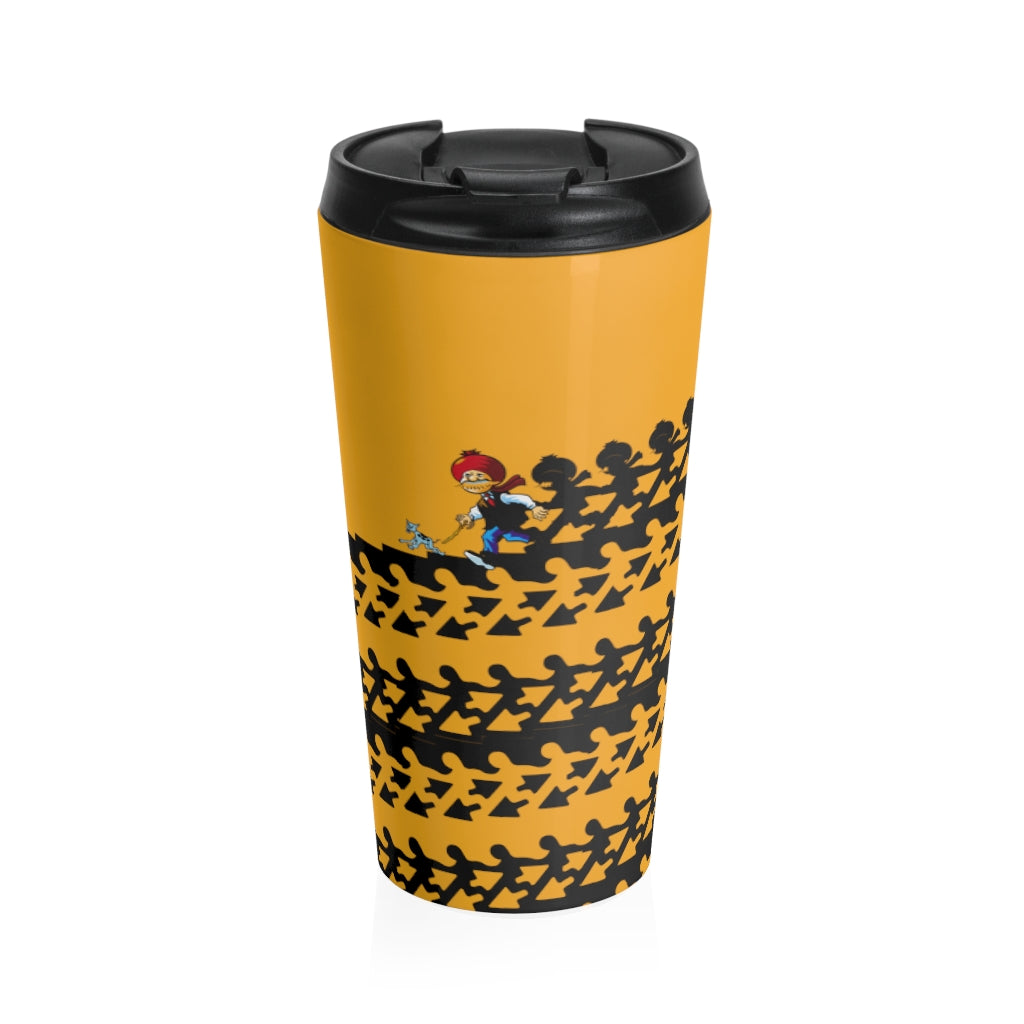 Chacha Chaudhary Stainless Steel Travel Mug