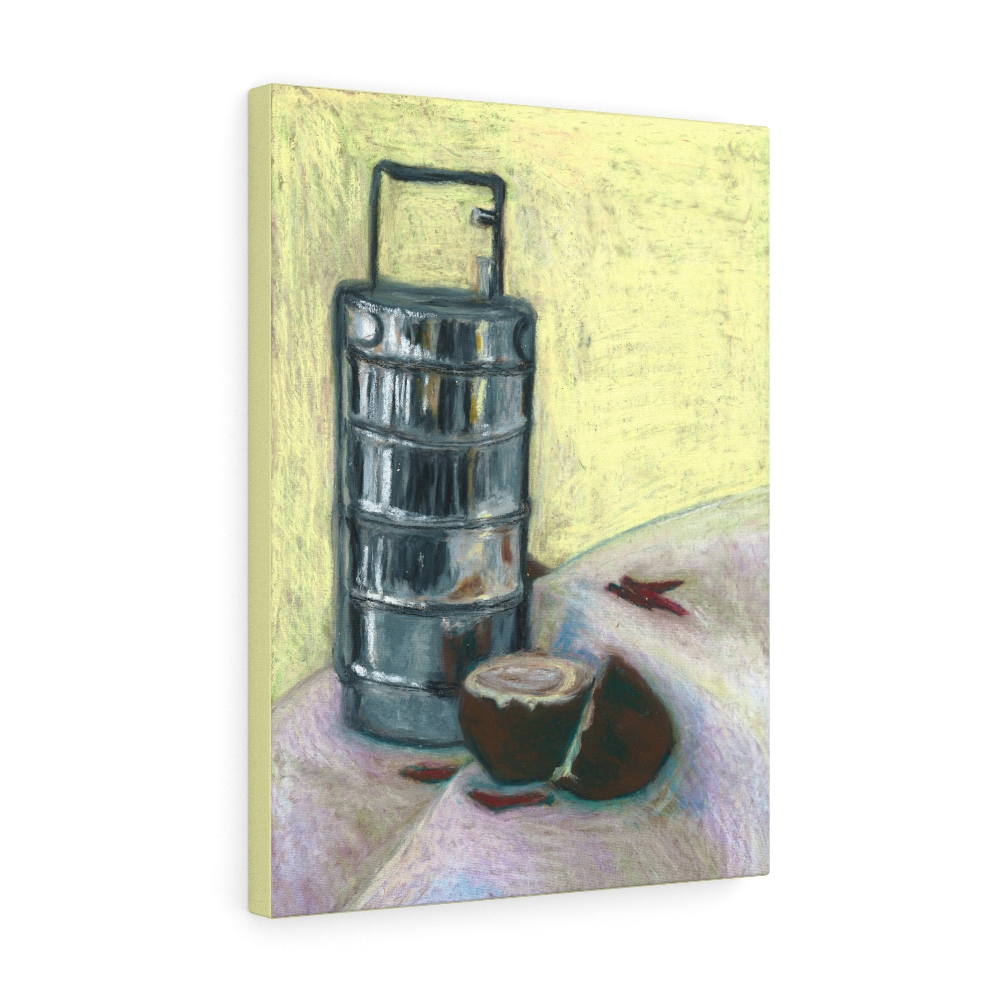 Lunchbox Still-Life Art on Canvas