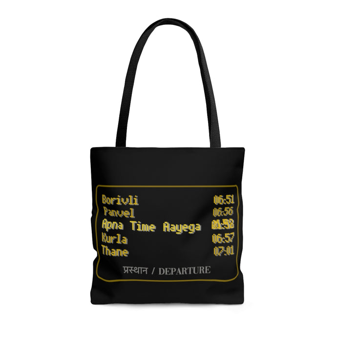 Apna Time Aayega Both Side Print Tote Bag