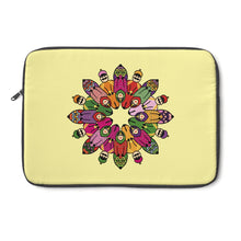 Traditional Indian Infinite Design Tesselation Couple Laptop Sleeve