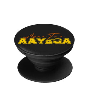 Apna Time Aayega Chic Vintage Bollywood Gully Boy Phone Grip Pop Socket