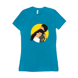 DDLJ Bollywood Couple Women's T-Shirt