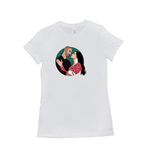 Bajirao Mastani Bollywood Couple Women's T-Shirt