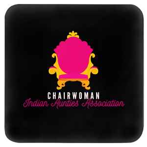 Chairwoman Indian Aunties Association Set of 4 Coasters (Zarna Collection)