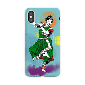 Classical Dancer Bharatnatyam Iphone Case