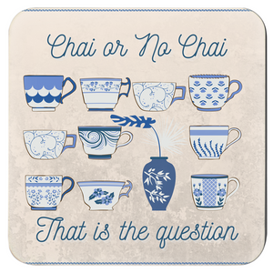 Classic Chai Coasters (Set of 4)