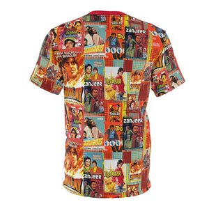 Amitabh Bachchan Vintage Unisex All Over Print T-Shirt