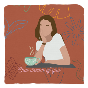 Chai Dream of You Throw Pillow