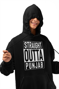 Straight Outta Punjab Hoodies (No-Zip/Pullover)