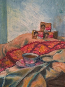 Paint by Numbers-Chai and Biscuit packets
