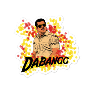 Dabangg Salman Khan Being Human Collectible Bubble-free stickers