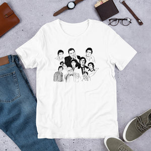 Avatars of Rishi Kapoor Short-Sleeve Unisex T-Shirt