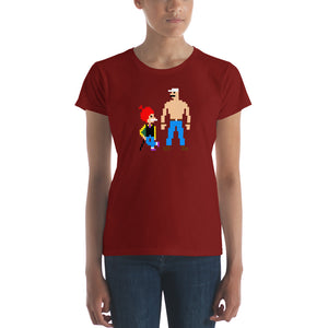 Chacha Chaudhary Pixel Art Women's short sleeve t-shirt