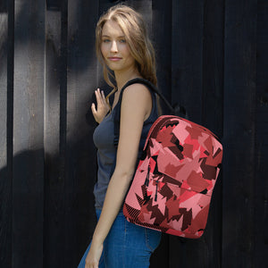 Coral Camo Laptop and Casual Backpack