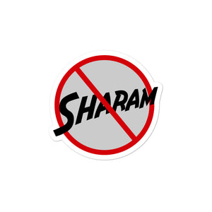 No Sharam Besharam collectible Bubble-free stickers