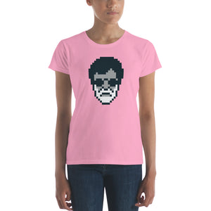 Kabali Rajnikanth Pixel Art Women's short sleeve t-shirt
