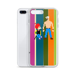 Chacha Chaudhary Pixel Art iPhone Case