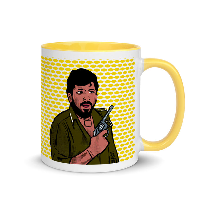 Bollywood Villains Gabbar from Sholay Mug with Color Inside