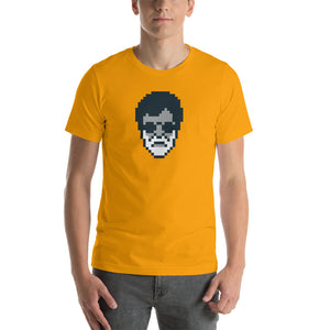 Kabali Rajnikanth Pixel Art Short-Sleeve Men's T-Shirt