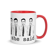 Thats what she said (Rahul Rai Tiktok) Mug with Color Inside