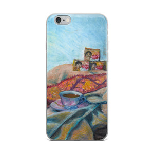 Chai still life painting iPhone Case