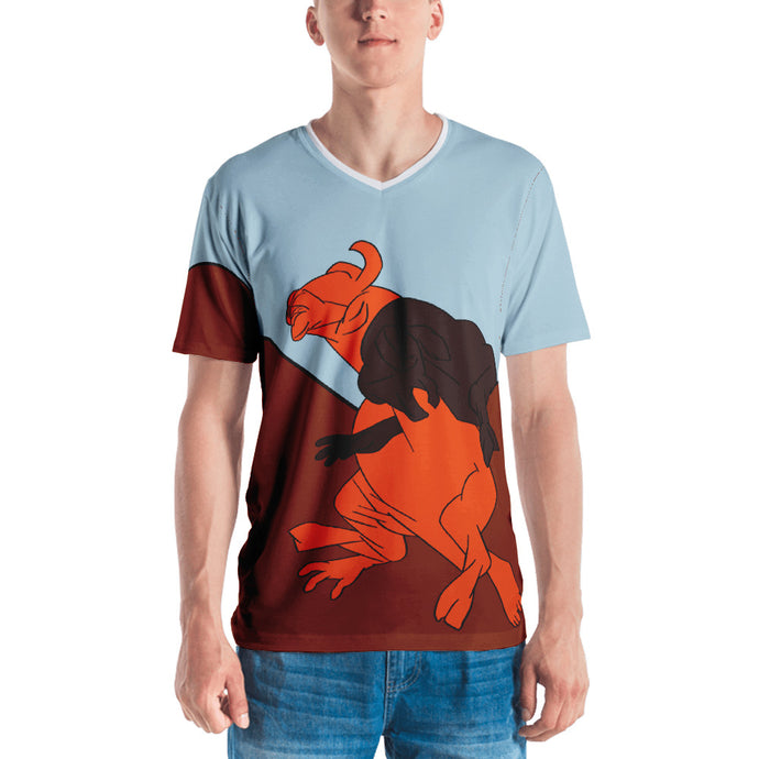 Bullfight all over print Men's T-shirt