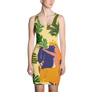 Couple in the wild Sublimation Cut & Sew Women's Dress