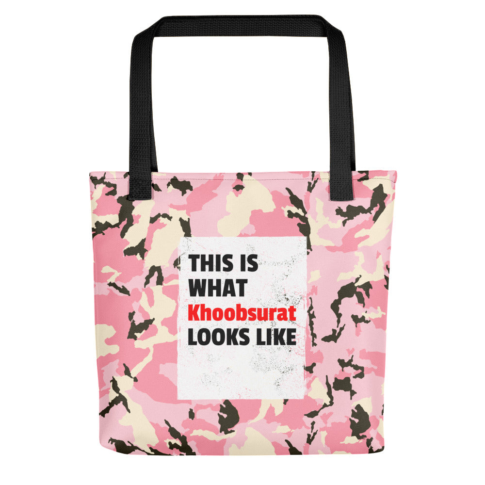 This is what Khoobsurat looks like Tote bag