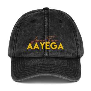 Apna Time Aayega Vintage Cotton Twill Cap